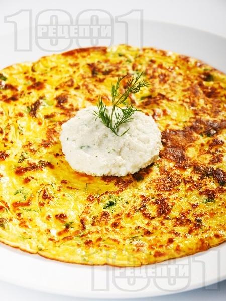 Солени картофени палачинки със сирене - снимка на рецептата